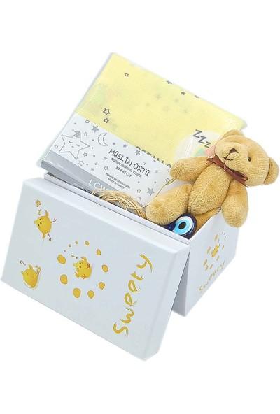 Ambalajist Bebek Kutusu Sarı Civcivler 1 No Yeni Doğan Hediyelik Ürünler