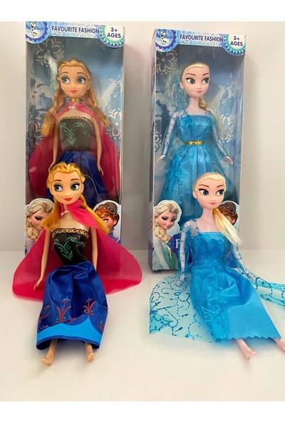 Kardelen Karlar Ülkesi – Frozen Elsa ve Anna Bebek Seti