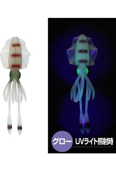 PROX Viceo Real Bait Squid Silikon Kalamar 4 Inç Glow Aori