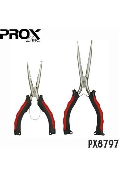 PROX Sprit Ring Straight Pliers Halka Açıcı ve Misine Kesici Pense 18CM