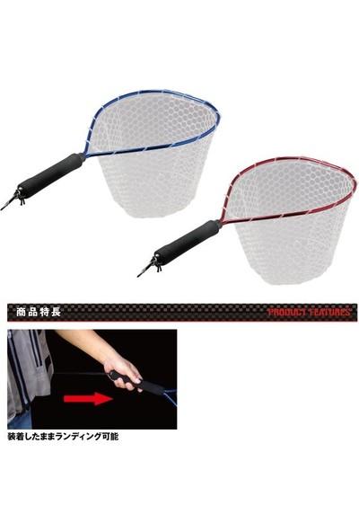 PROX Rubber Landing Net Short Grip Kepçe 56 cm