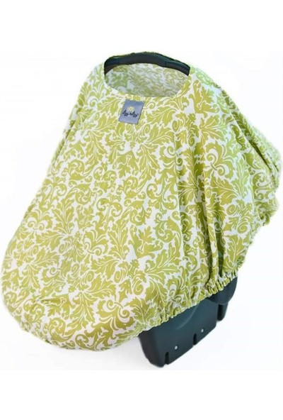 Itzy Ritzy Infant Carrier Podavocado Damask