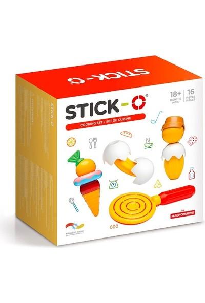 Stick Stick-O Mıknatıslı Yemek Seti 16 Parça