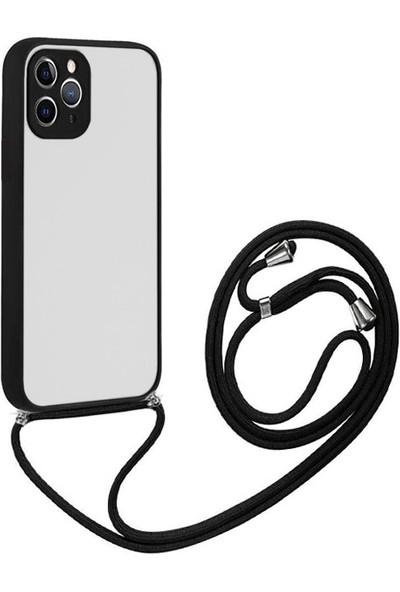 Ssmobil iPhone 12 Pro Max 6.7 Askılı Koruyucu Silikon Kılıf