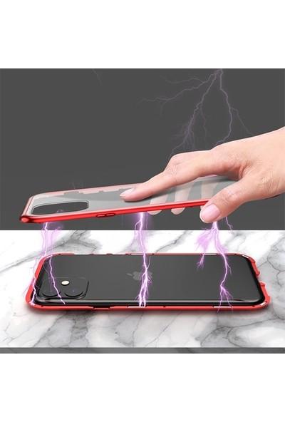 Ssmobil Iphone 11 Pro 5.8 Mıknatıslı 360 Derece Ön ve Arka Cam Full Korumalı Manyetik Kılıf