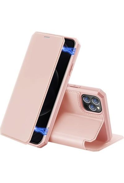 Ssmobil iPhone 12 Pro Max Kılıf Mıkantıslı Kapaklı Flip Cover Kılıf Skin x Series Flip Case