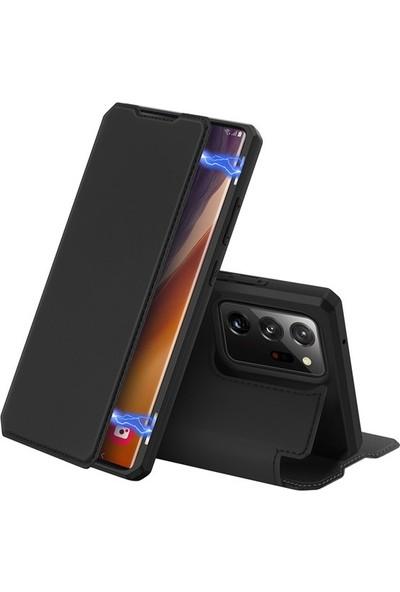 Ssmobil Samsung Galaxy Note 20 Ultra Kılıf Kapaklı Flip Cover Kılıf Skin Pro Series Kılıf