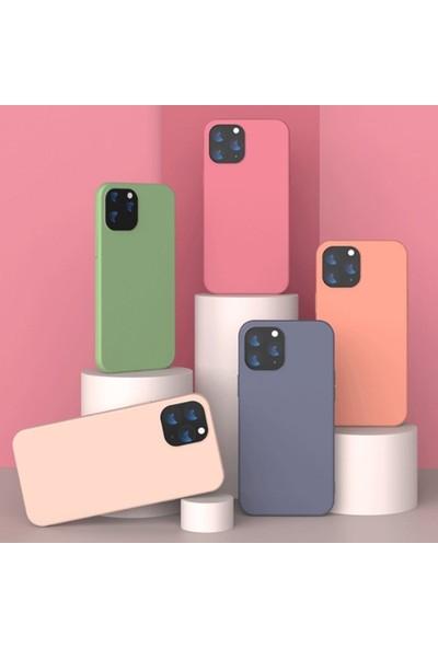 Ssmobil Iphone 12-Iphone 12 Pro 61 Liquid Silicone Lansman Soft Silikon Kılıf