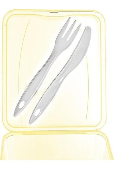 Titiz AP-9082 Takeaway Beslenme Kabı Seti Sarı