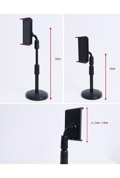 Ssmobil Portatif 360 ° Masaüstü Tablet Standı Tutucu