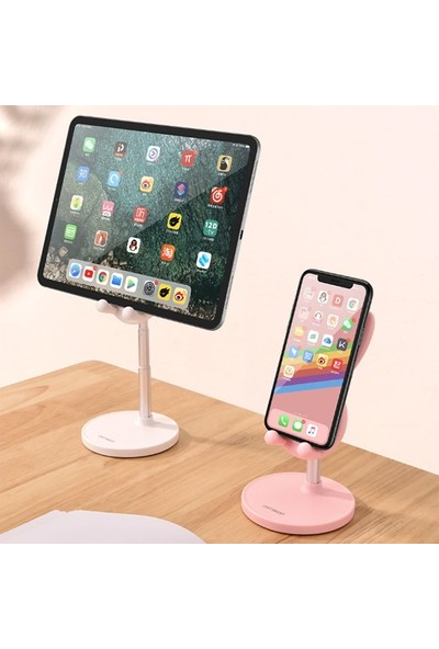 Ssmobil Cute Masaüstü Telefon Tablet Tutucu Stand Uzatılabilir Hareketli