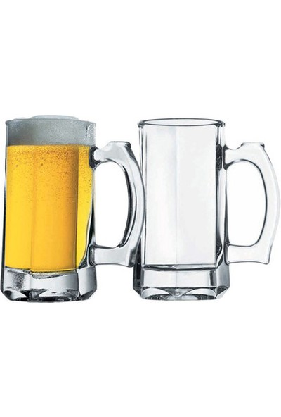 Paşabahçe 355 cc Kulplu Bardak - 2li Bira Bardağı 55049