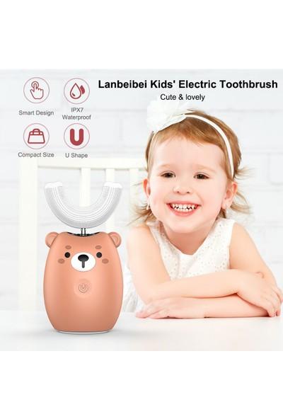 Lanbeibei Çocuk Elektrikli Diş Fırçası Şarj Edilebilir