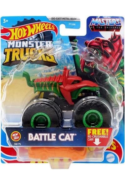 Hotwheels Canavar Kamyonlar Oyuncak - Battle Cat GTH68