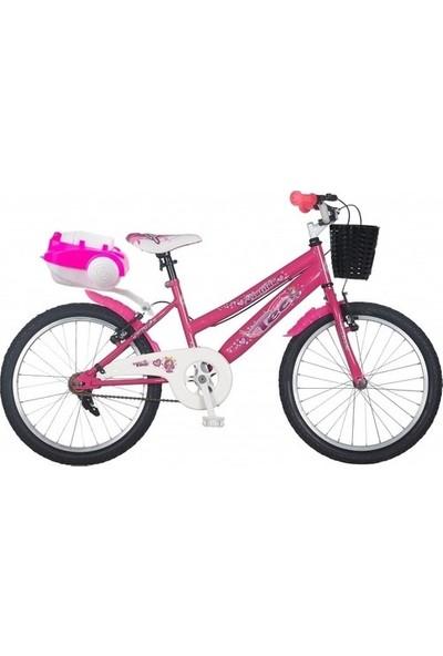 Ümit Bisiklet Ümit Tec 20 Jant Çocuk Bisikleti 4-5-6-7-8-9-10 Yaş Çocuk Bisikleti Pembe