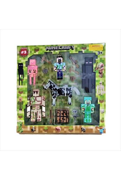 Minecraft Series 3 Tam 14 Parça LEGO