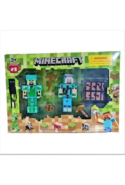 Minecraft Serisi 3 Tam 6 Parça LEGO Blok Oyuncak