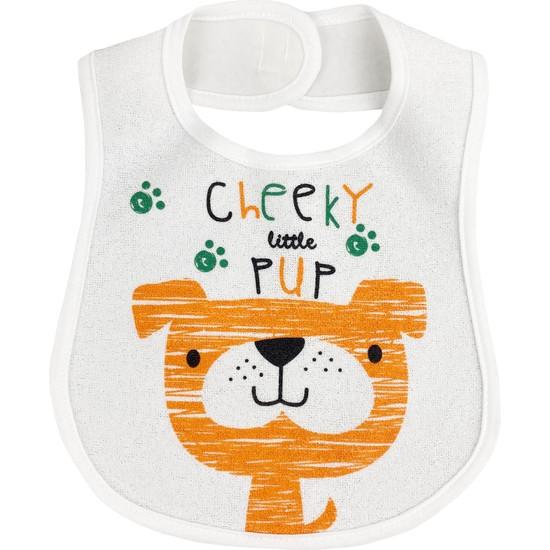 Baby Bibs Little Dog Bebek Mama Önlüğü