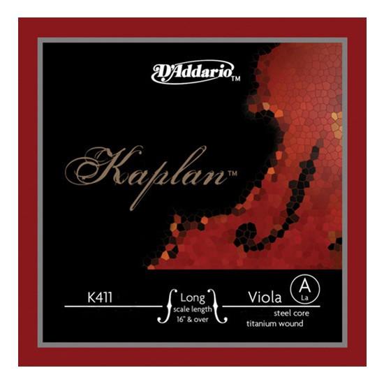Daddario K411LH Kaplan Viola Long Hvy