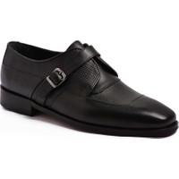 Parlak Erkek Klasik Deri Ayakkabı 803-21K