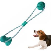 Mixpet Vantuzlu Köpek Diş Temizleme ve Eğlence Oyuncağı 50 cm