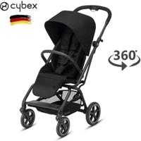 Cybex Eezy S Twist+2 (360 Derece) Bebek Arabası - Deep Black