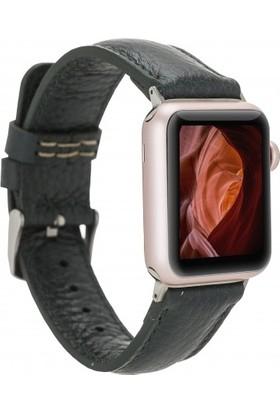 Plm Apple Watch Deri Kordon 38-40MM FL13 Koyu Yeşil