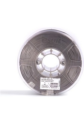 Esun Abs+ Filament 1.75 mm Gümüş