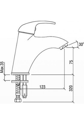 Nsk Arnıa Lavabo Bataryası 20121.02-SU US221