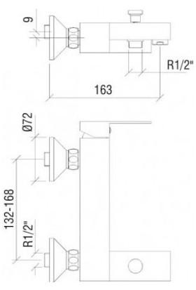 Nsk Geo Mıx Banyo Bataryası 20319.02 US197