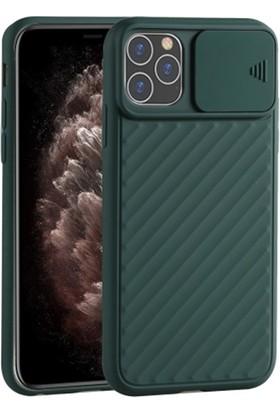 Ssmobil Iphone 11 Pro 5.8 Kılıf Kamera Kapatan Koruyucu Sürgülü Kılıf