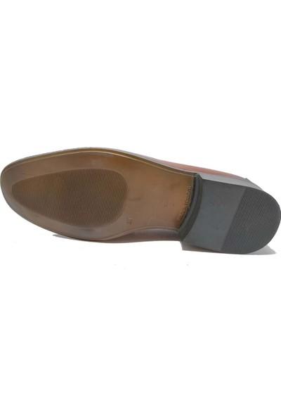 Budak Taba Erkek Deri Klasik Ayakkabı - Taba - 41