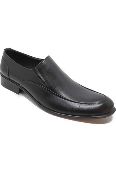 Budak 819 Erkek Deri Klasik Ayakkabı - Siyah - 41