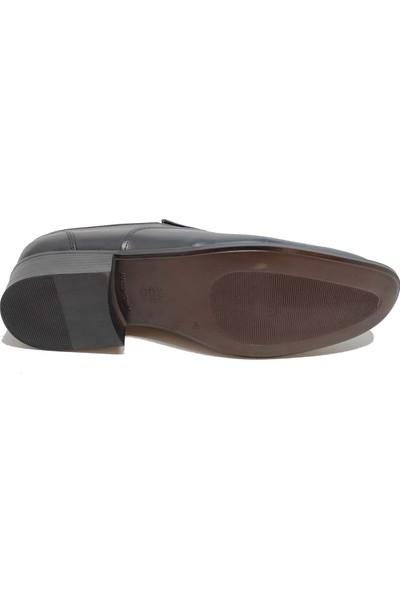 Budak 819 Erkek Deri Klasik Ayakkabı - Siyah - 42