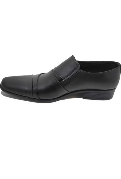 Budak 810 Erkek Deri Klasik Ayakkabı - Siyah - 43