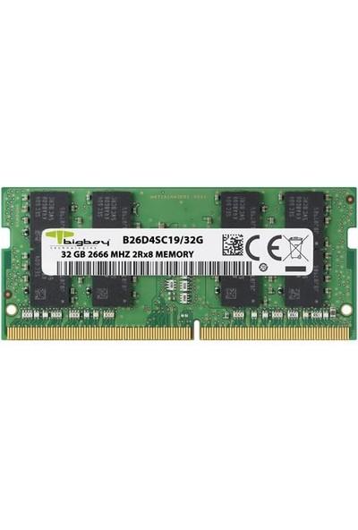 Bigboy 32GB 2666MHZ C19 Ddr4 Notebook Ram B26D4SC19/32G