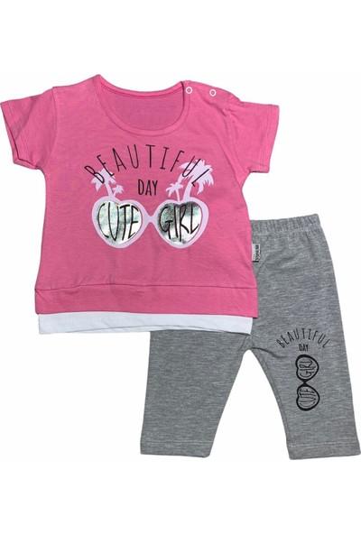 Bertoby Cute Gözlük Yazlık Kız Bebek Takım