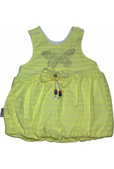 Mini Kids Balon Kız Bebek Elbisesi