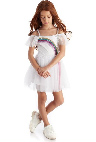 Colorinas Magic Rainbow Tutu Elbise