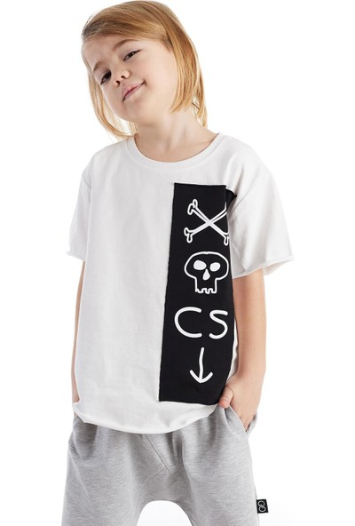 Colorinas Oversize Patch Tshirt