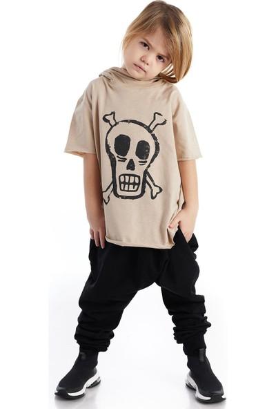 Colorinas Mask Hoody Baskılı Tshirt