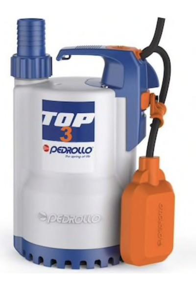 Pedrollo Top-3 Flatörlü Plastik Gövdeli Drenaj Pompası