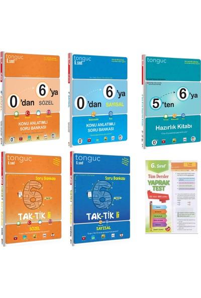 Tonguç Akademi 0'dan 6'ya Sayısal Sözel Konu Anlatım Soru Bankası ve 6. Sınıf Taktikli Soru Bankası