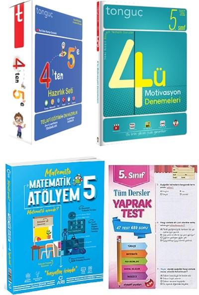 Tonguç Akademi 4'ten 5'e Hazırlık Seti 4´lü Motivasyon Denemeleri ve 5. Sınıf Matematik Atölyem