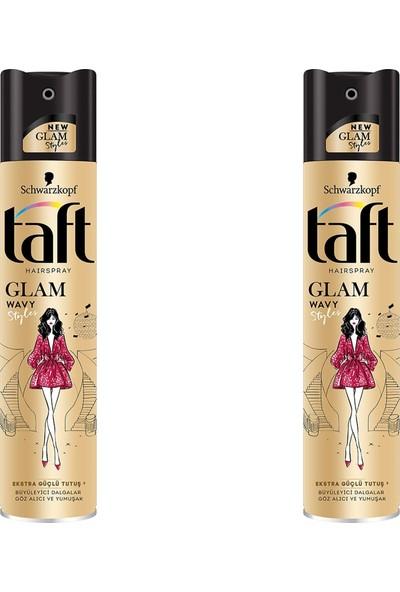 Schwarzkopf Taft Saç Spreyi Glam Way Style Ekstra Güçlü Tutuş 3 2li