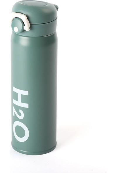 EWS Ew's Paslanmaz Çelik Yeşil Matara 500 ml