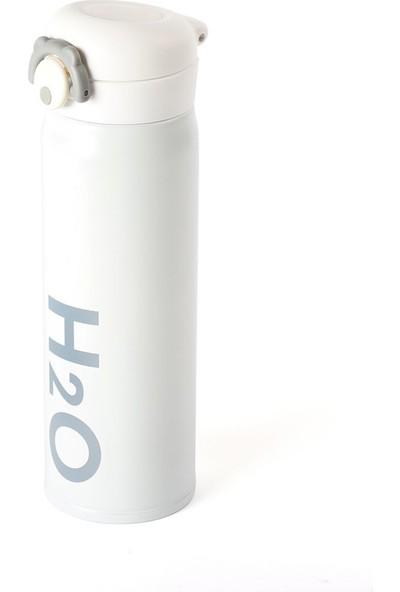 EWS Ew's Paslanmaz Çelik Beyaz Matara 500 ml