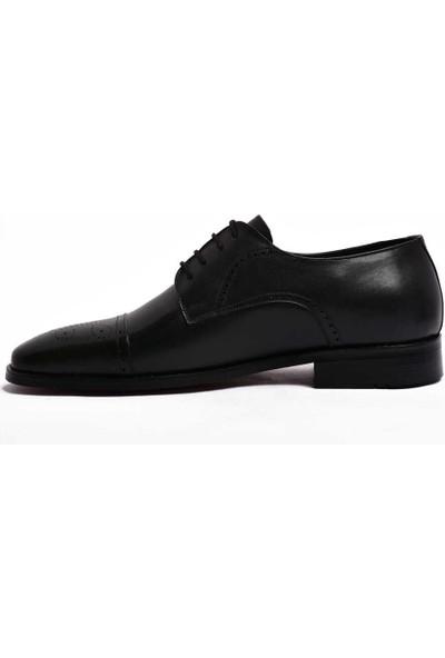 Parlak Erkek Klasik Deri Ayakkabı 805-21K