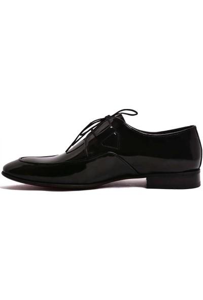 Parlak Erkek Klasik Deri Ayakkabı 505-21K