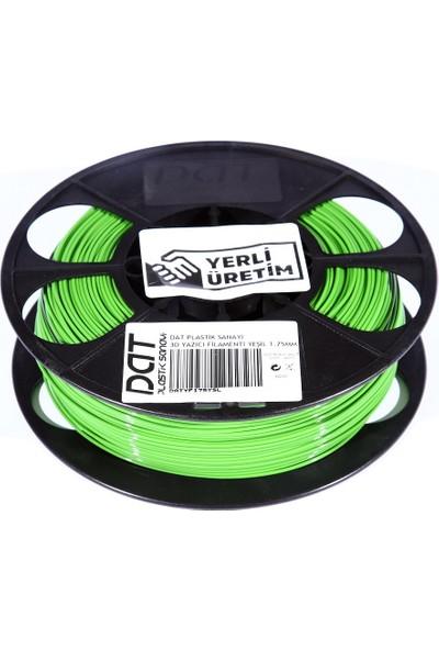 Dat Plastik Yerli Üretim Pla 3D Filament Yeşil 1.75MM